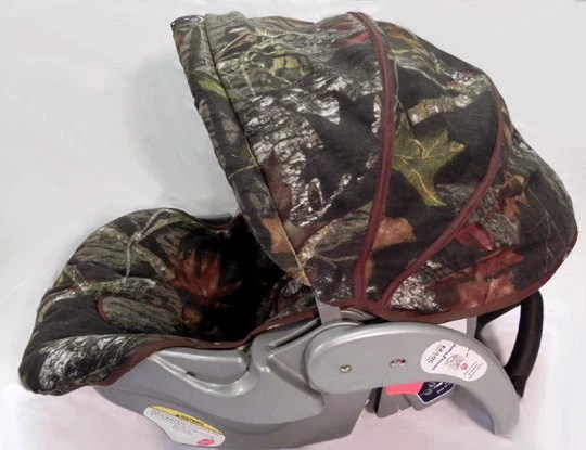 Baby Car Seat Replacement Covers Custom Boutique Mossy Oak Camo Infant Car Seat By