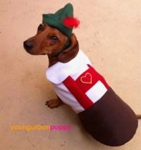 Hans Oktoberfest Lederhosen Costume for Dogs