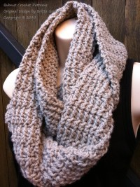 Infinity Scarf Crochet Pattern available as Digital Download