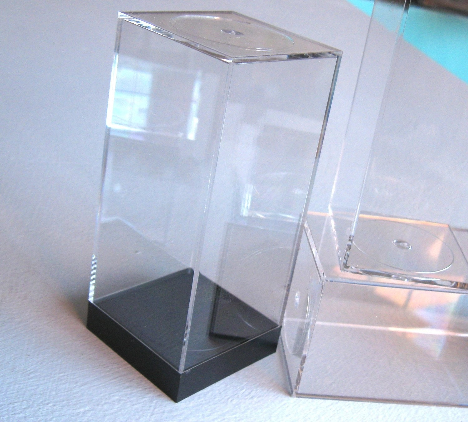Clear Display Boxes 25 Small Clear Acrylic Display Boxes By Vivavivant On Etsy