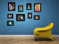 Picture Frames Vinyl Wall Decals by Vinyltastic on Etsy