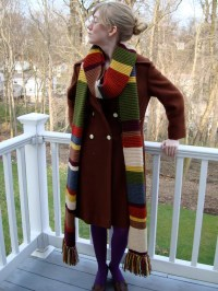 Doctor Who Scarf / Season 12 / Fourth Doctor / 11 Feet Long