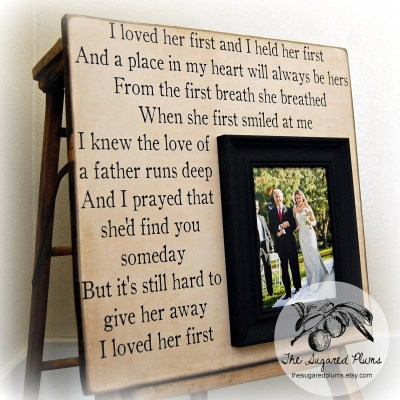 Wedding Gift For Parents Mother of the bride Thank you