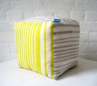 small cube lavender scented pillow by cloudcloudshop on Etsy