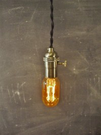 Vintage Minimalist Industrial Bare Bulb Light Sockets by ...