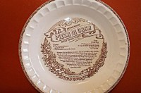 Reserved for Elise. Jeannette Pie Plate Royal China Country