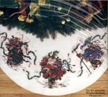 Dimensions Cross Stitch Tree Skirts