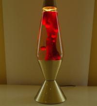 Reserved for AussieAussieAussie Retro Red Lava Lamp Vintage
