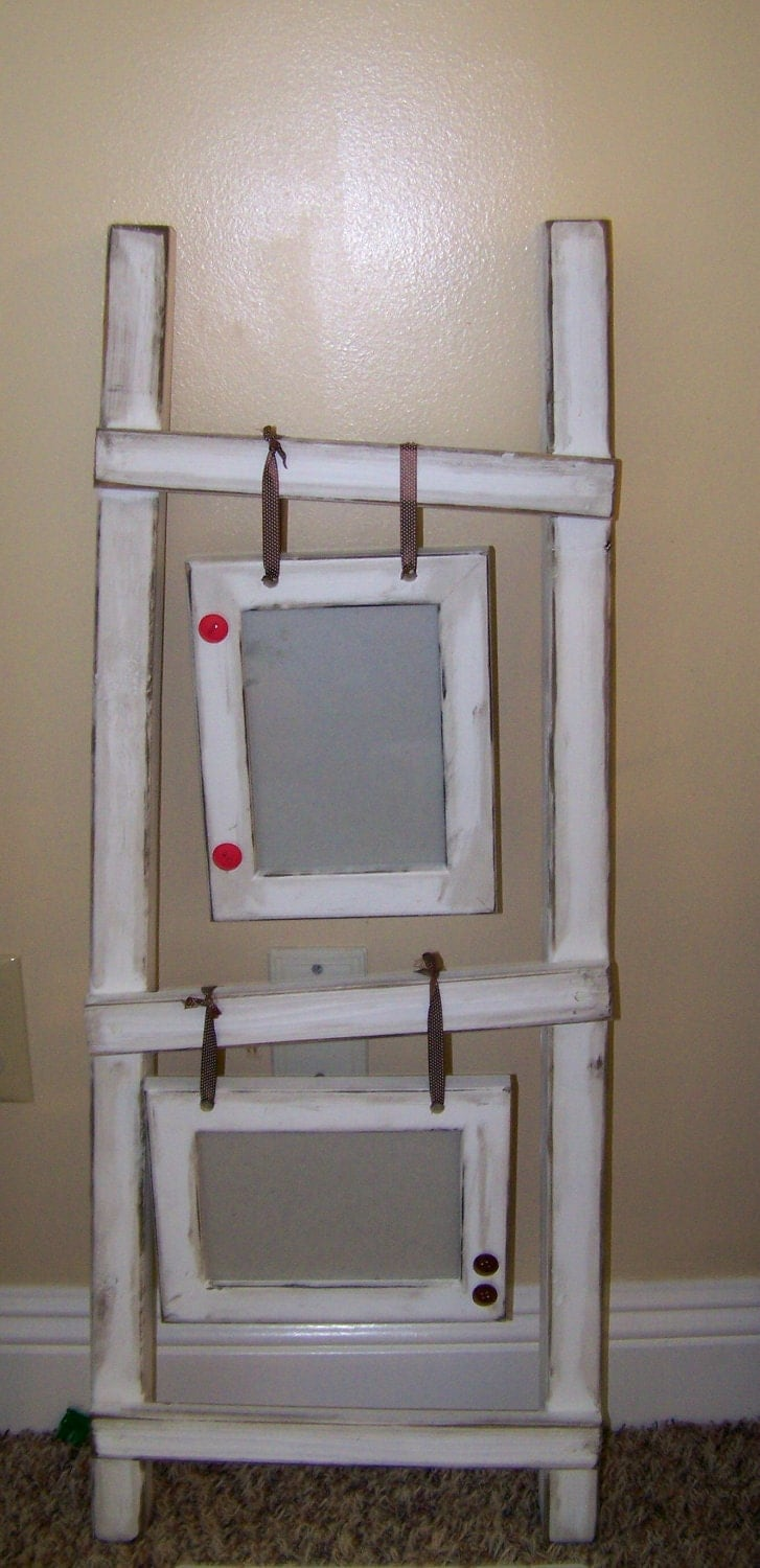 Ladder Picture Frame Display