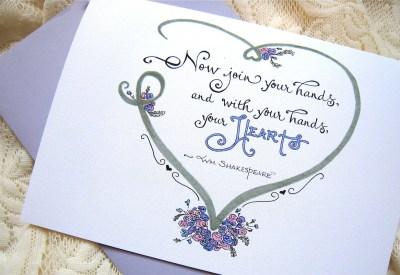 Wedding Card. Engagement Wedding Quote. by PattieJansen on ...