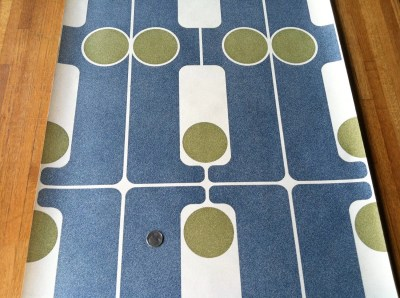 Mid Century Modern Vintage Wallpaper Bowling Made
