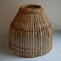 Vintage Basket Lamp shade circa 1970s by ameliajanevintage ...