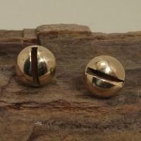 Screw Head Earrings Stud Earrings Brass