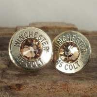 Bullet Earrings Stud Earrings Ultra Thin Winchester