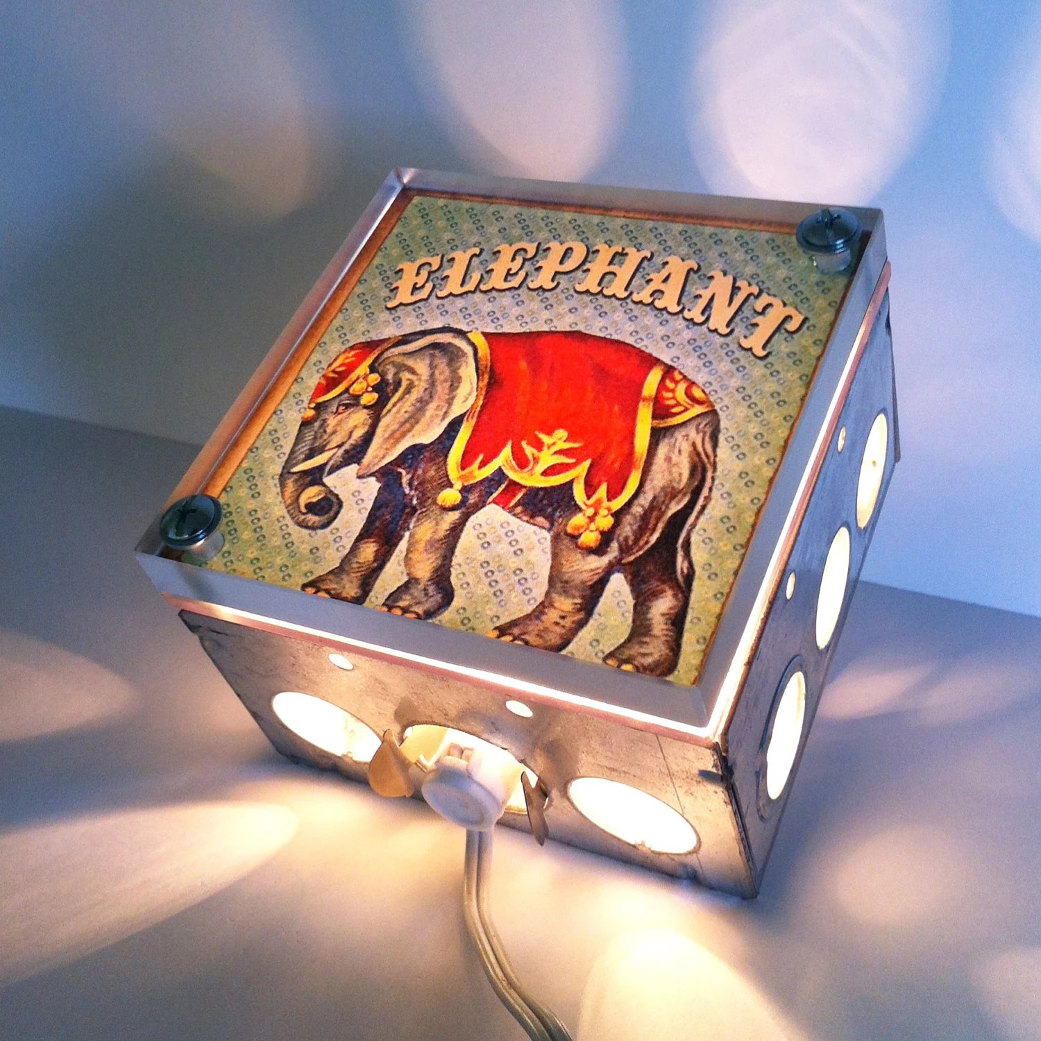 Elephant Night Light Item Details