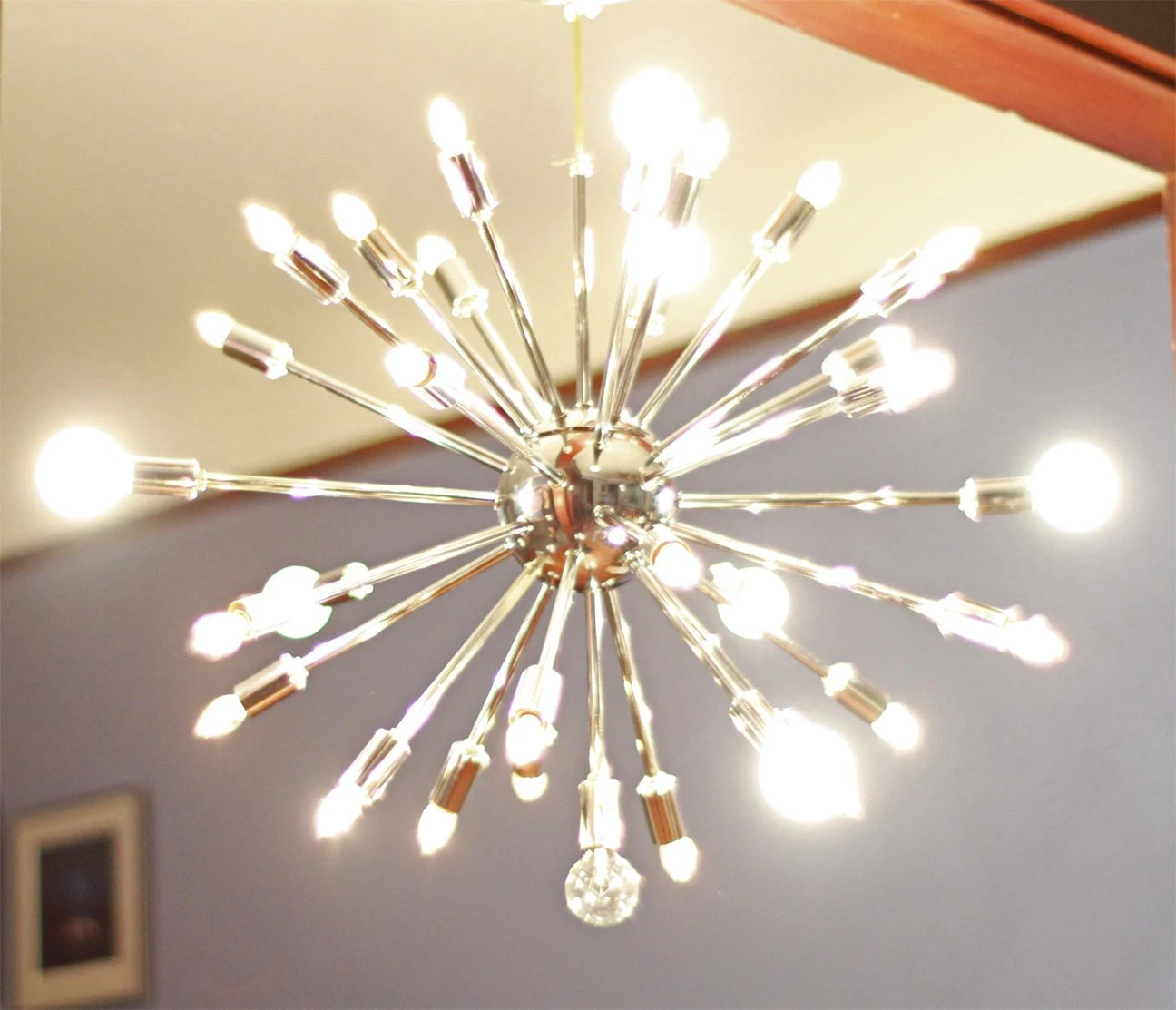 Modern Vintage Lights Vintage Sputnik Chandelier Mid Century Modern Lighting