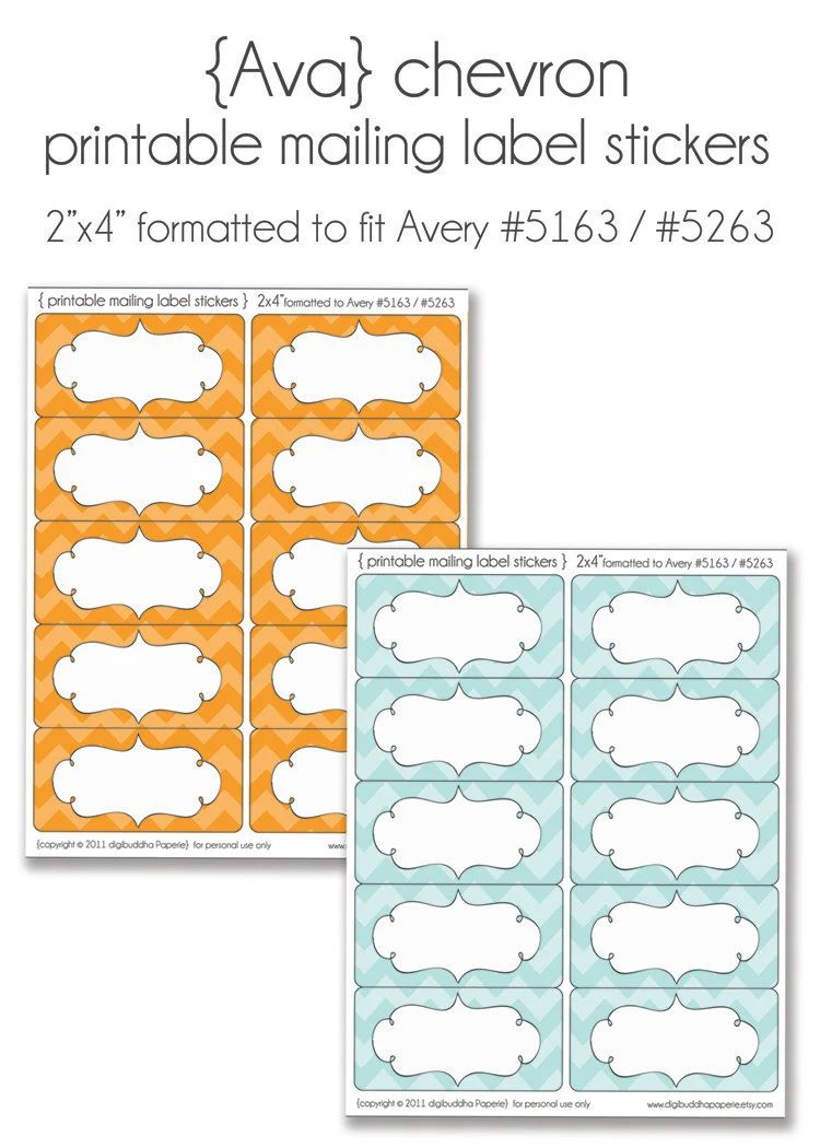 how to print avery 5163 labels in word