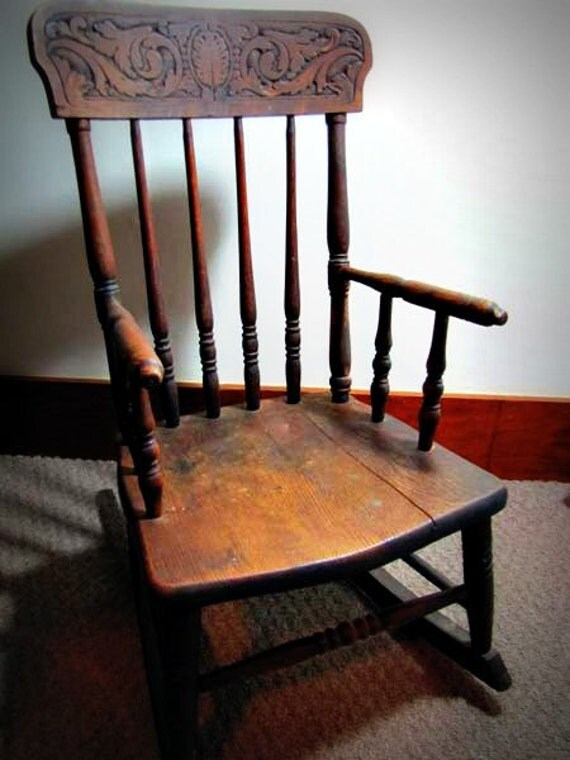 Antique Children39s Rocking Chair S Bend Brothers