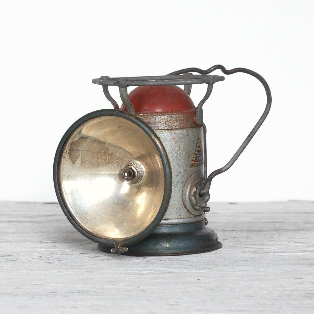 Antique Railroad Lantern Delta Powerlite Lantern Made In