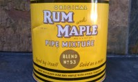 1949 Rum & Maple Pipe Tobacco MixtureTin