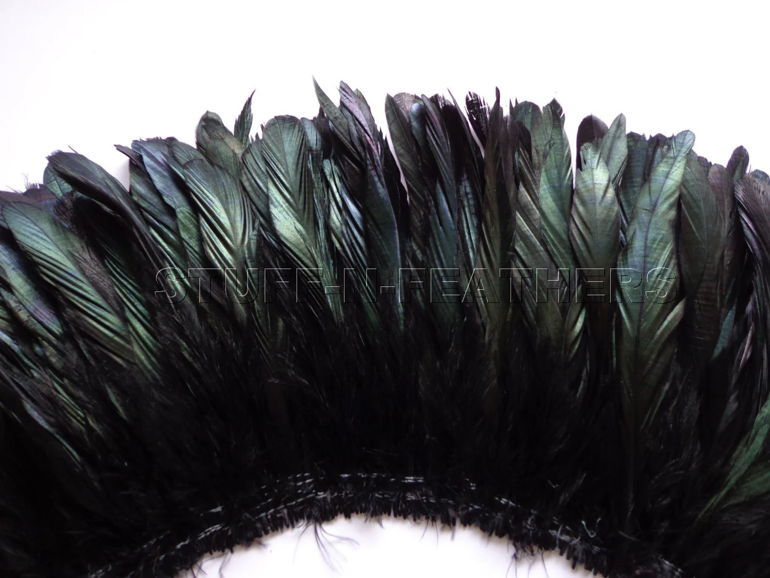 Bulk Jewelry Wholesale Wholesale Bulk Feathers Iridescent Black Rooster Coque