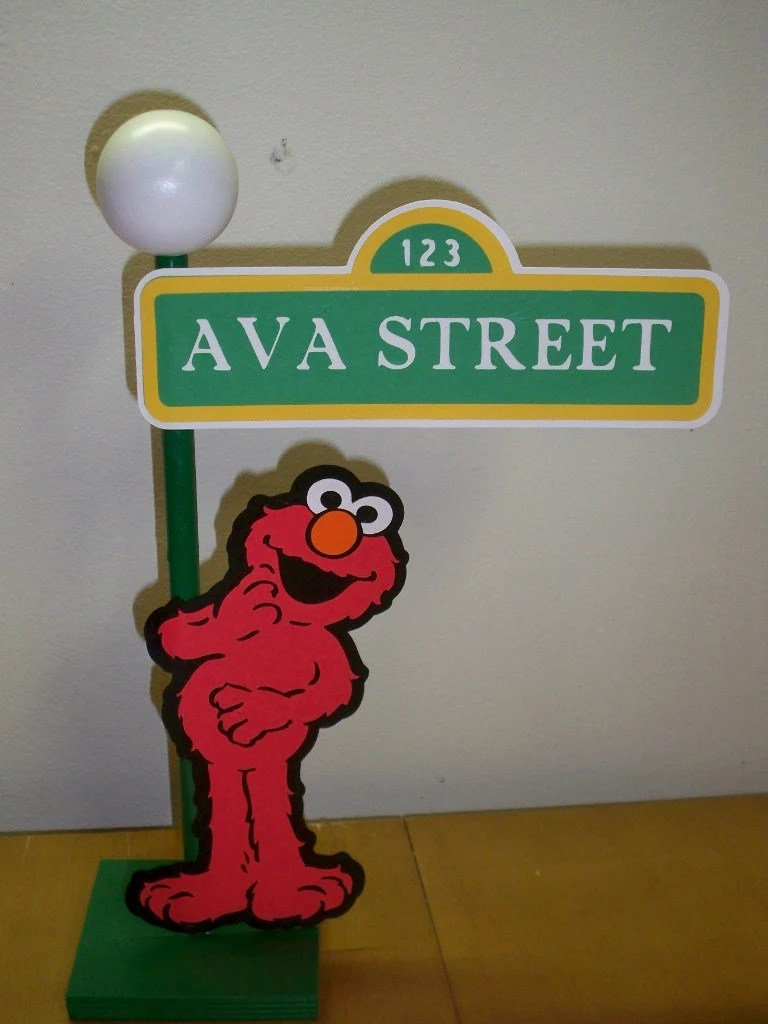 Street Lamp Png Sesame Street Lamp Post Centerpiece Or Decoration For Your