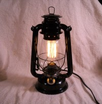 Black Electric lantern industrial table lamp hanging lighting