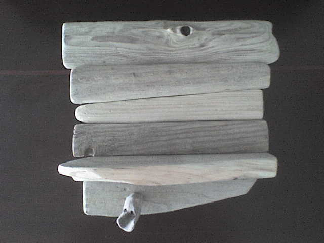 Driftwood Wall Shelf And Key Holder