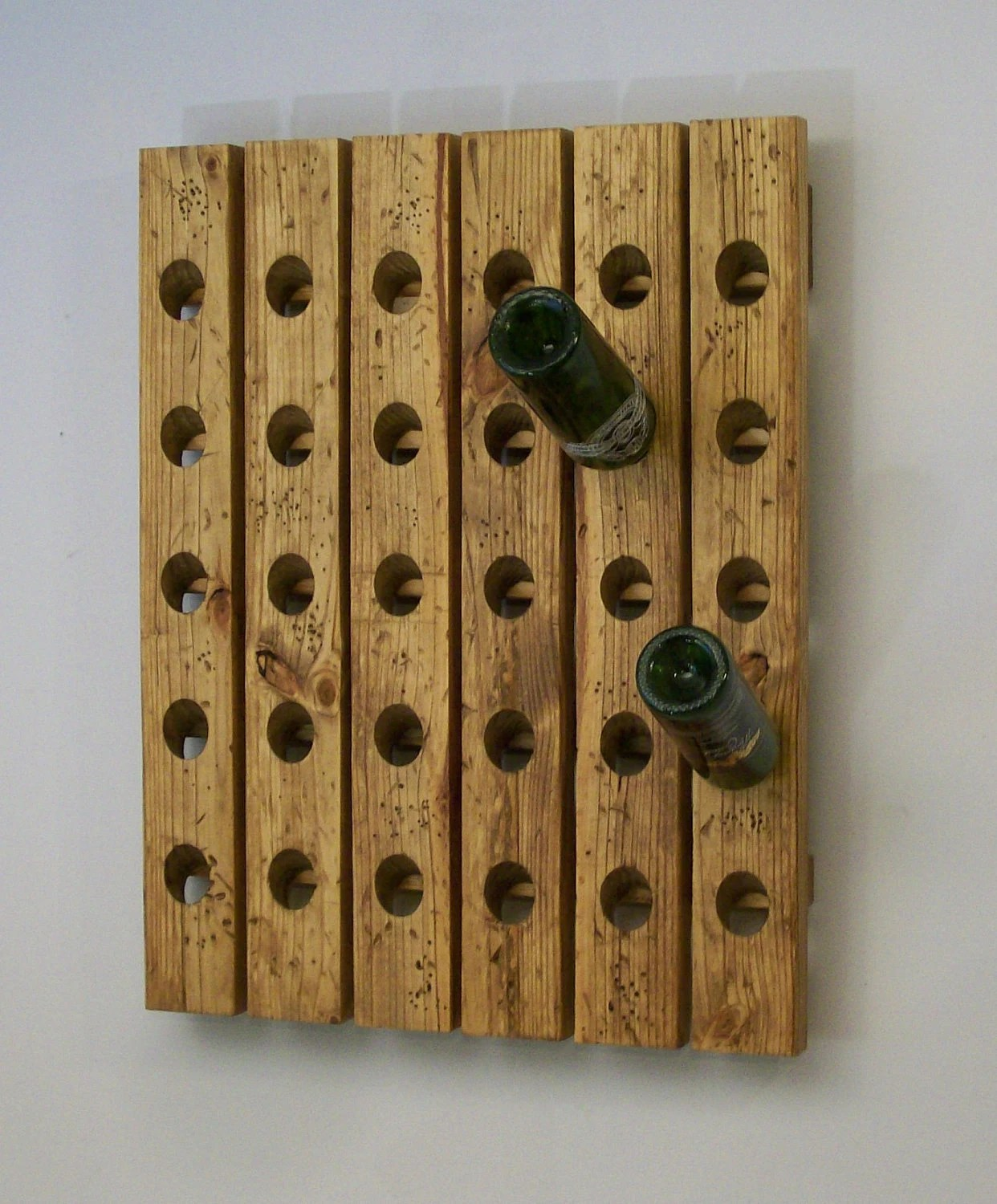Antique Wooden Wine Rack Distressed Riddling Wine Rack Antique Style Wood Winerack
