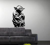 Items similar to Vinyl Wall Art Decal Star Wars Yoda on Etsy