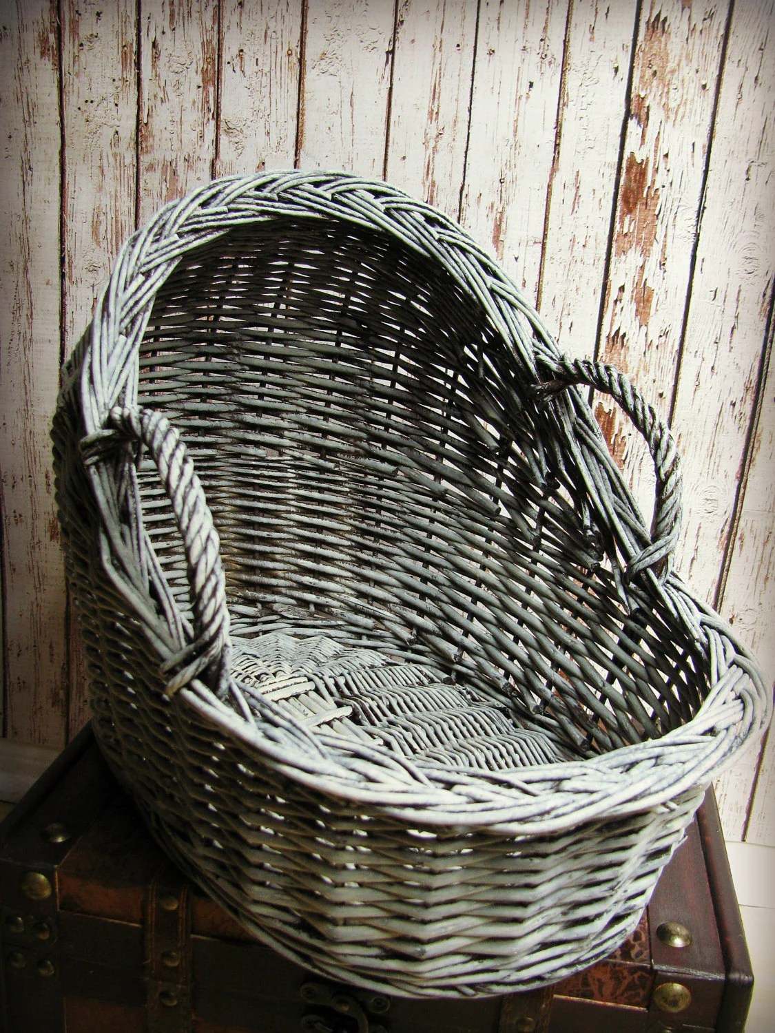 Newborn Bassinet Bedding Newborn Wicker Moses Basket Photography Prop 15 3 Long X