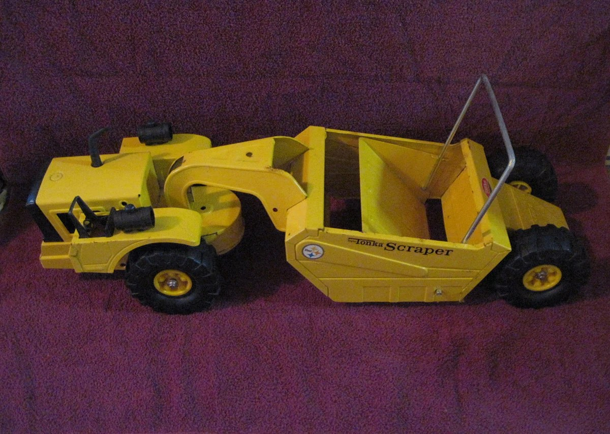 Mighty Vintage Vintage Mighty Tonka Scraper Truck 1960s Toy By Collectorhawk