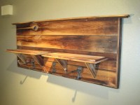 Items similar to Rustic Coat Rack on Etsy