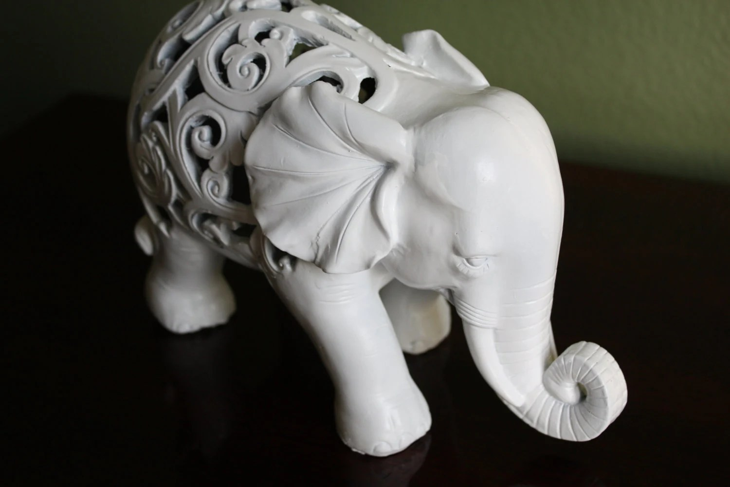 Animal Figurines Home Decor Ornate Elephant Figurine Home Decor Animal Decor