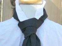 Knot Tie Victorian Steampunk Necktie LARP Gentleman