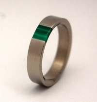 malachite wedding ring wedding band malachite stone