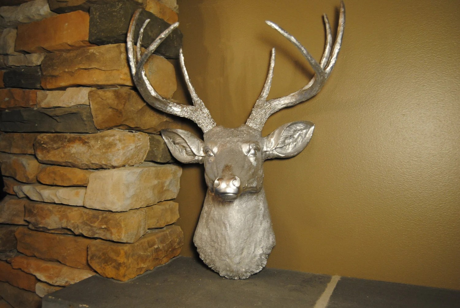 Fake Taxidermy Deer Head Faux Deer Head Deals On 1001 Blocks