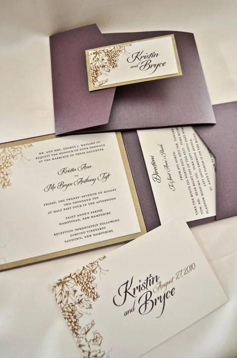 Items Similar To Vineyard Grape Theme Wedding