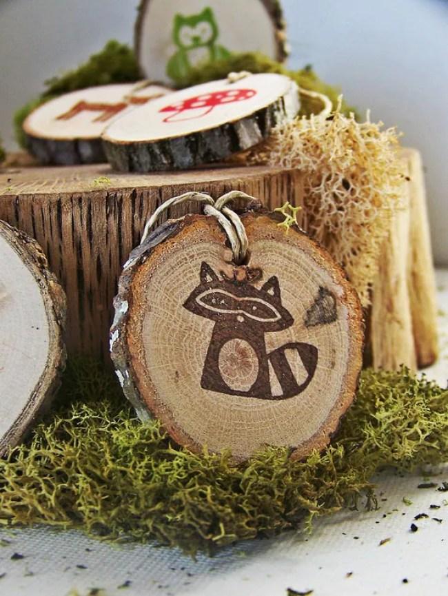 Woodland Animal Gift Tags