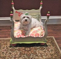 Handmade Pet Bed by DarlinLillyRose on Etsy