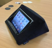 iPad Cushion Pillow Stand Holder. iCushion Velvet by ...