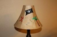 Pirate Treasure Map Lamp Shade