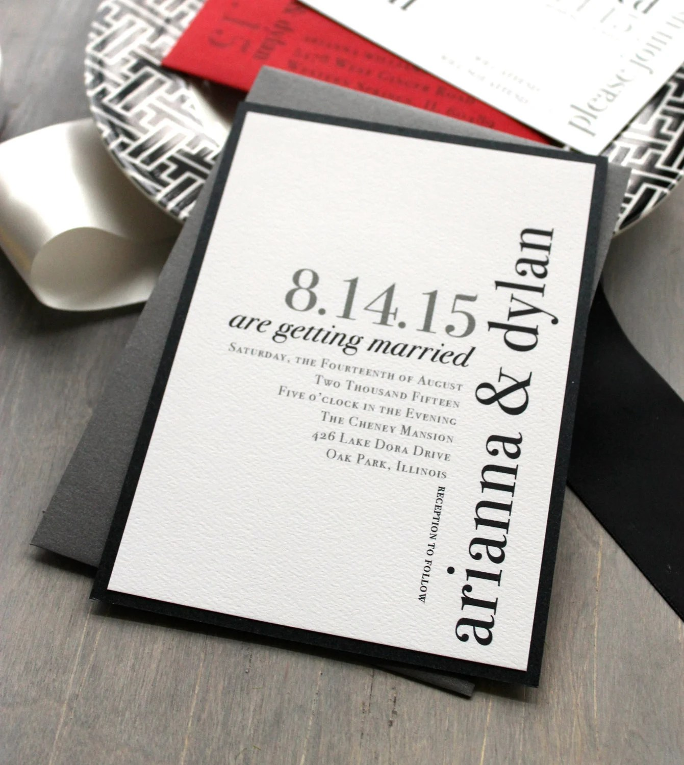 modern wedding invitations wedding wedding invitations with pictures zoom