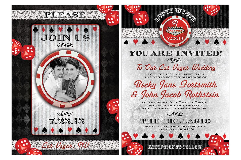 wedding invitations las vegas las vegas wedding invitations Las Vegas Wedding Invitation Wording Rugalah Com