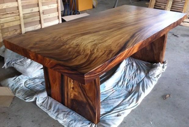 live edge dining table reclaimed wood slab