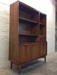 Mid-Century Danish Modern China Cabinet / Hutch / Bookcase