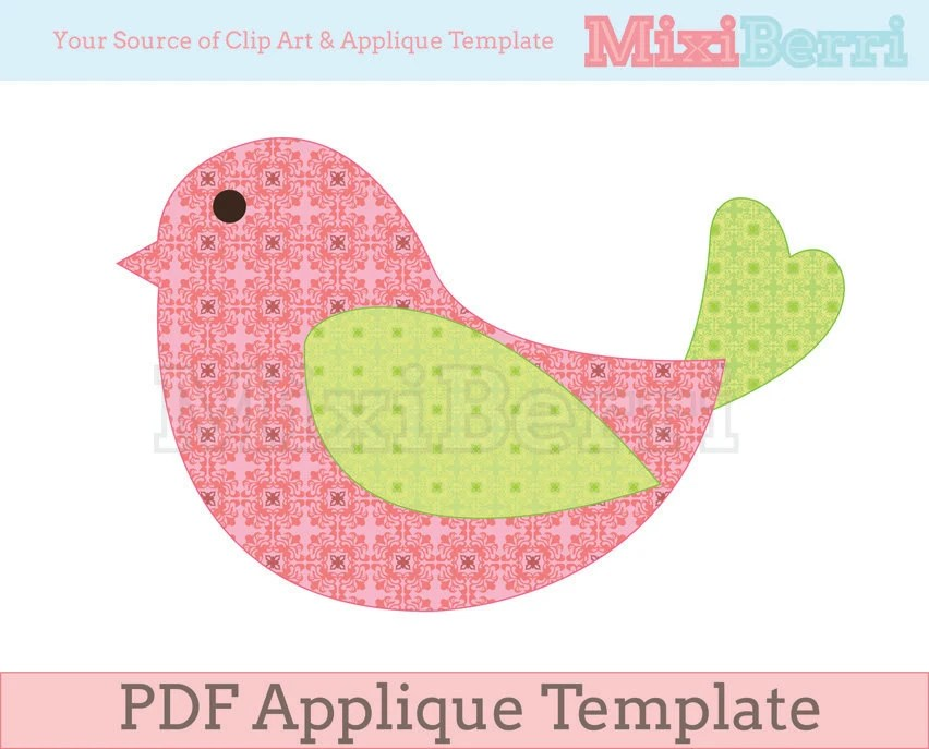 Free Printable Tea Cup Template - for applique Craft Ideas - template