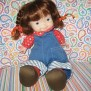 1973 Fisher Price 13audry Lapsitter Stuffed Doll