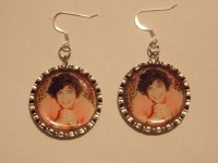 One Direction Earrings Harry Styles by Amberactons on Etsy