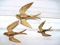Sparrow wall art bird art dimensional wall plaques